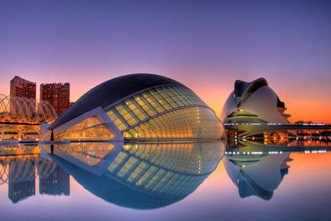 Город искусств и наук, Испания.