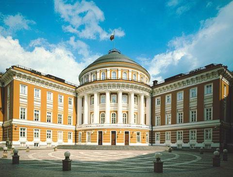 Здание Сената в Кремле.