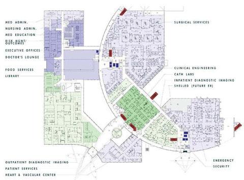 План больницы