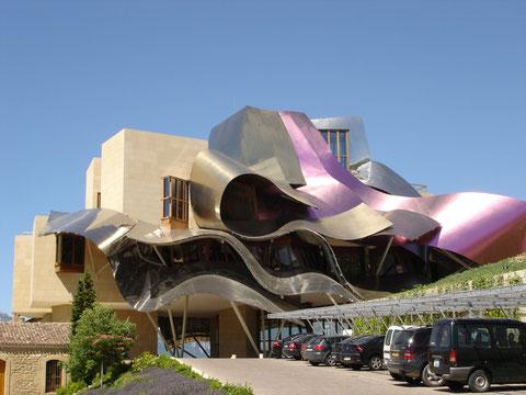 Отель Marques De Riscal. Испания.