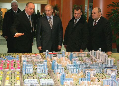 """Макет жилого района """"Спутник"""" г. Пенза"""