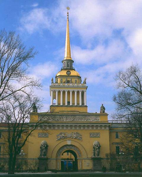 Адмиралтейство в Петербурге.