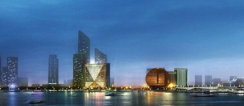 Здание CITIC Bank в Китае