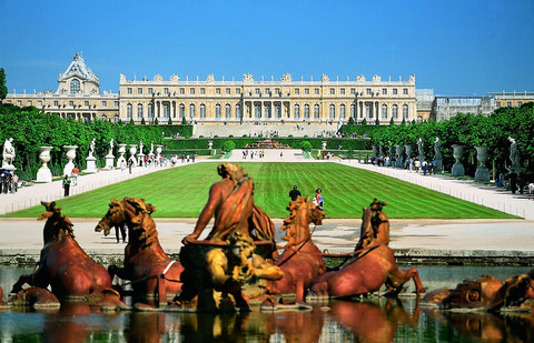 Дворец в Версале.