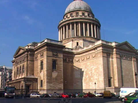 Пантеон в Париже.