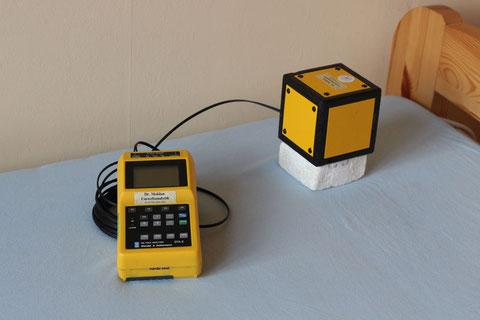 Messgeräte zum Ermitteln elektrischer Wechselfelder am Schlafplatz