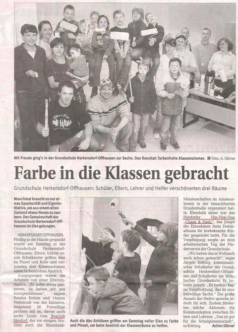 Rhein Zeitung 26.10.2009