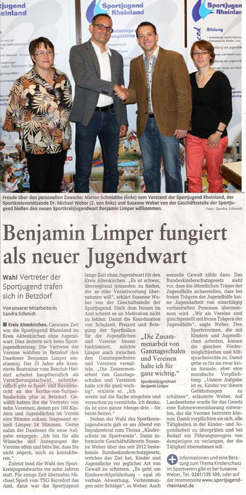 Rhein Zeitung 11.07.2014