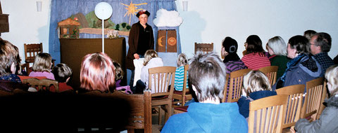 """""""Frau Holle"""" ist ein Stück für die ganze Familie. Foto von der Premiere."""