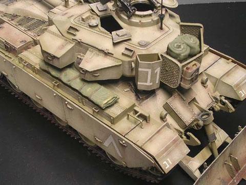 Der Centurion der IDF dagegen erscheint relativ neu