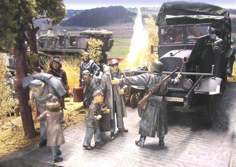 Feldjäger im Einsatz