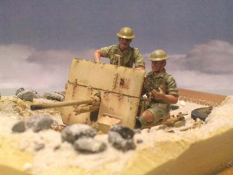 Die kleine Silhoutte war sicher ein Vorteil zu Beginn des Wüstenkrieges