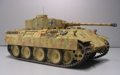 Ein echter Hybrid, oder die wohl beste Verwertung von Schadpanzern.