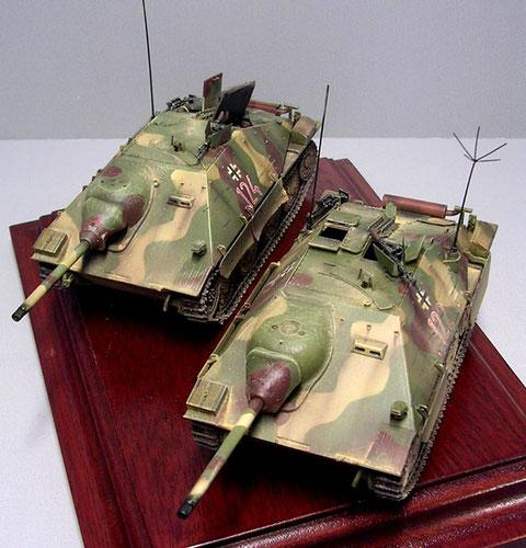 Fertig fürs Diorama-jetzt geht es an der Bergepanzer 38!