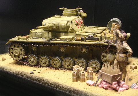DML Panzer III -G mit Einzelketten zum realistischen Durchängen