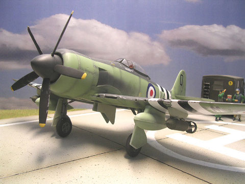 Markant: der 5-blättrige Propeller