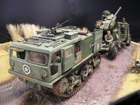 Hier als Zugmaschine für die 75mm Flak