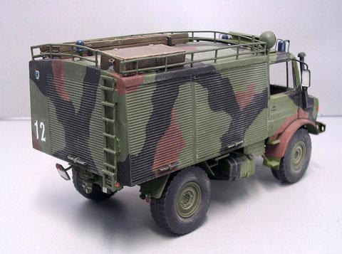 Gestrichener NATO-Dreifarbtonanstrich