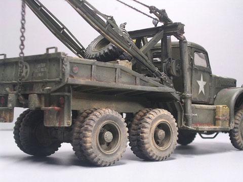 Das 6x6-Fahrwerk garantiert starke Zugleistung.