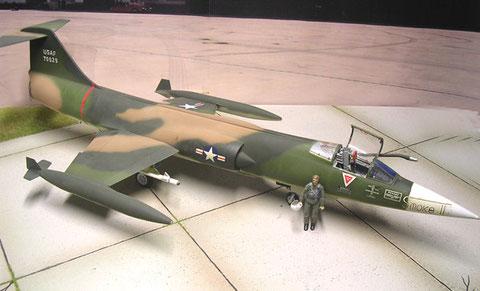 Tarnschema USAF Vietnam-Konflikt 1970
