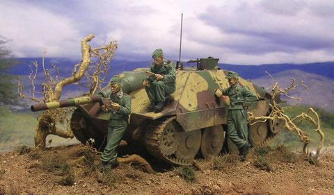 Jäger vor dem Gefecht...