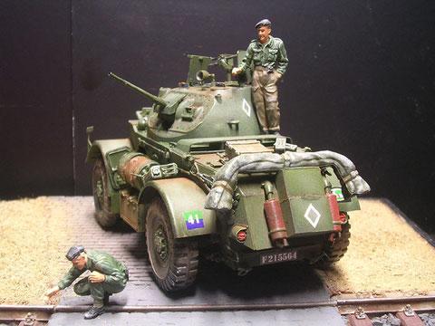 Das US-Fahrzeug war auschließlich bei den britisch-kanadischen Streitkräften im Einsatz