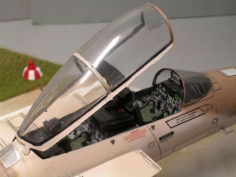 Saubere Cockpitgestaltung.