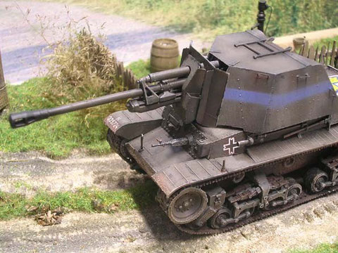 Die Pak Zis-3 war auch 1944 noch eine annehmbare Waffe