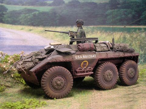 Die relativ flache Silhoutte des M20 erlaubt es sich unscheinbar im Gelände zu bewegen.