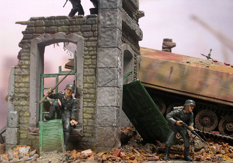 Hier sieht man die gute Qualität der rt-Dioramateile.
