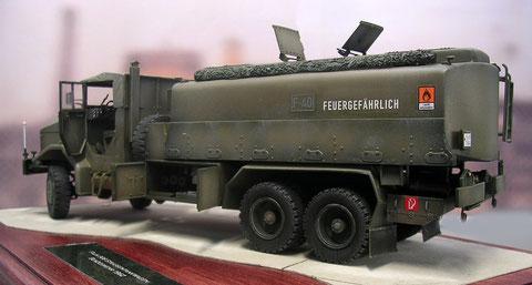 Prägend ist der große 15000 Liter-Tank.