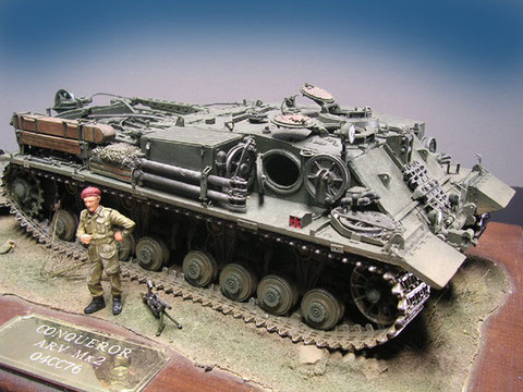 Last but not least: der Conqueror ARV, der Vorgänger aus den 50er Jahren