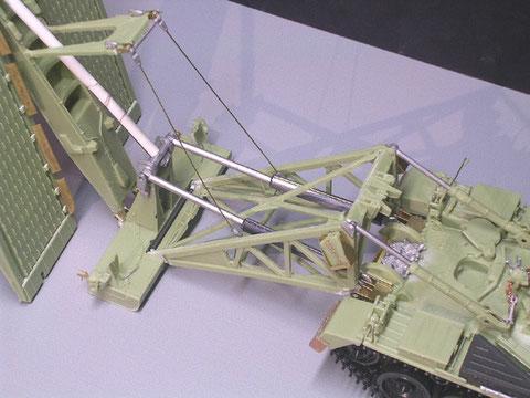 Hier sieht man die Mischung aus Resin-, Plastik- und Ätzbauteilen deutlich.