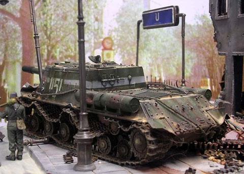 Der Russe steht an der Frankfurter Allee.