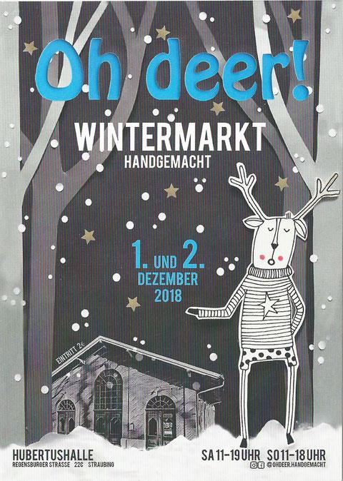 Advent, 1. Advent, Veranstaltung, Weihnachtsmarkt, Straubing, Wintermarkt, schöner Christkindlmarkt, im Landkreis Straubing-Bogen, stimmungsvoll, Kunsthandwerk, oh deer!