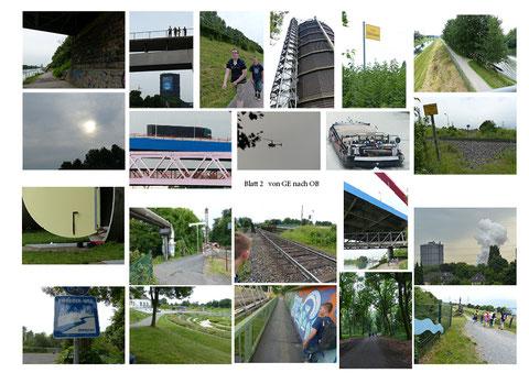 Von Gelsenkirchen nach Oberhausen