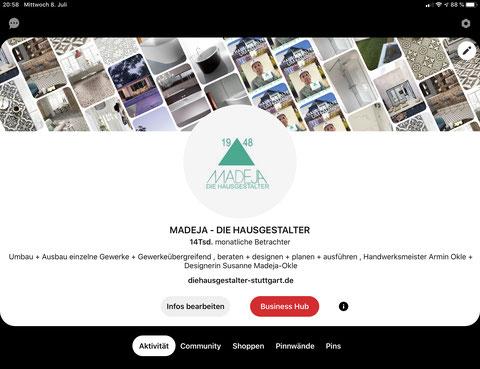 MADEJA - DIE HAUSGESTALTER Juli Pinterest