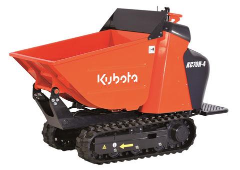 transporteur sur chenille Kubota KC70h-4