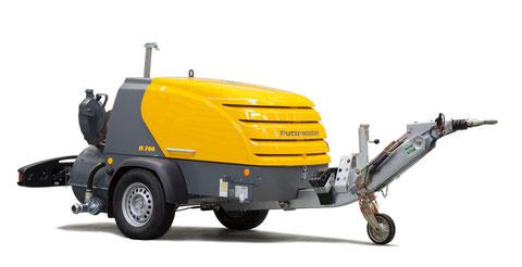 transporteurs de chape putzmeister M 760 M760