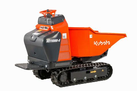 transporteur sur chenille Kubota KC110HR-4