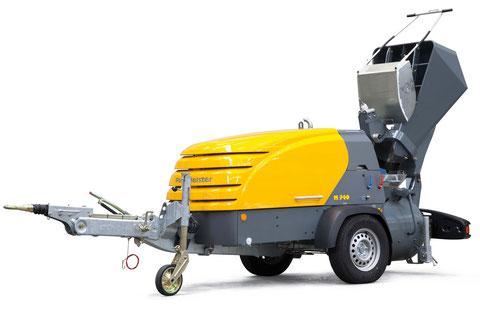 transporteurs de chape putzmeister M 740 M740