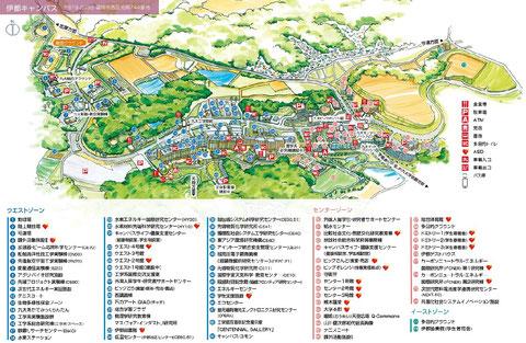 野球場→1 イーストゾーングラウンド→77