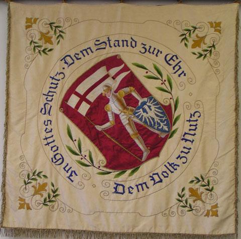 PSC Bamberg - Fahne von 1954, Rückseite