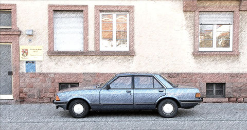 Ford Granada aus Landau