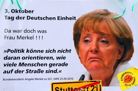 21.10.2010: Ich habe Fotos von den Protesten in Stuttgart gegen Stuttgart 21 hochgeladen
