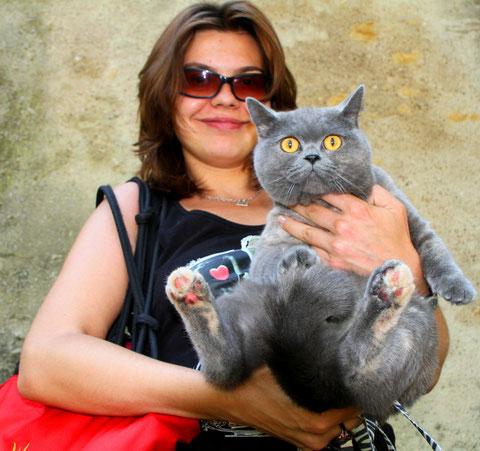coole Katze aus Metz - nennen wir sie GARFIELD