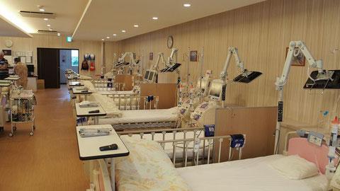 透析室です