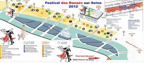 Festival des danses sur Seine Paris Plage