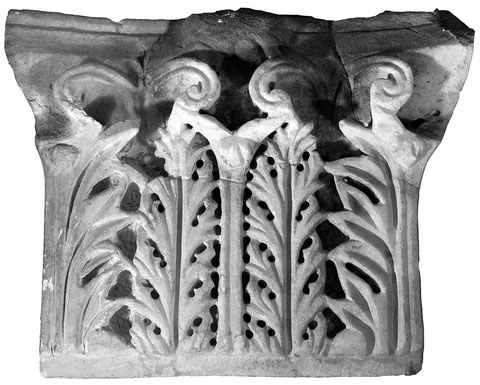 Pilaster capital from the Myrelaion.