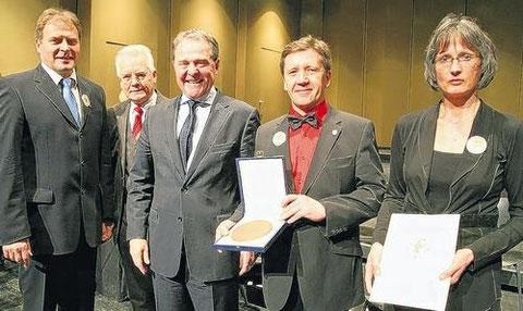 21. März 2010 - Zelterplakette überreicht in Schweinfurt